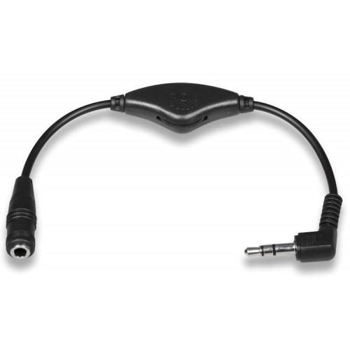 XP Deus Sound Adapter 3,5mm Klinke mit Lautstärkenregler