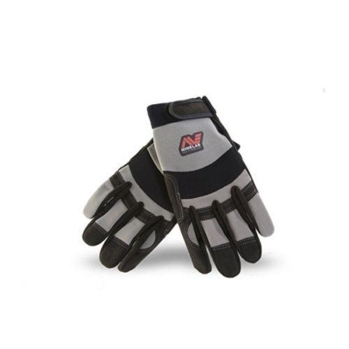 Handschuhe mit Minelab Logo