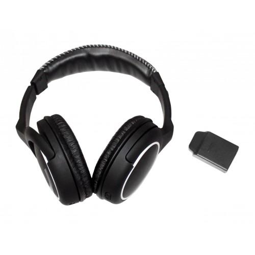 Makro Racer 2,4-GHz-Kabellose Kopfhörer und Dongle