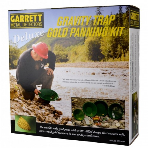 Garrett Gold Pan Kit Deluxe
